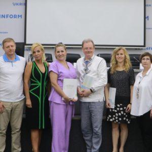 Голова освітнього комітету Асоціації Digital Ukraine Ксенія Захарченко взяла участь в презентації щорічної доповіді освітнього омбудсмена України